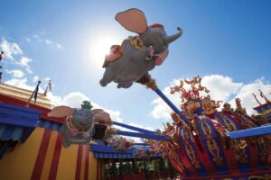 Dumbo im Magic Kingdom (Orlando, Florida)