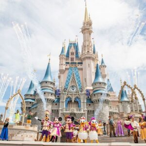 Cinderella Schloss im Magic Kingdom (Orlando, Florida)