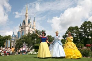 Disney Prinzessinnen im Magic Kingdom (Orlando, Florida)
