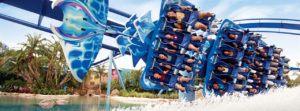 Seaworld Orlando Manta Achterbahn