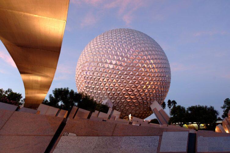 Spaceship Earth in Epcot (Walt Disney World)