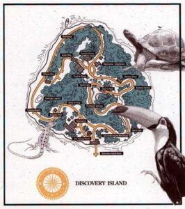 Disney Discovery Island (Florida) - Karte