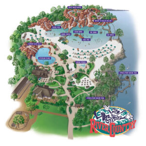 Disney's River Country (Florida) - Karte