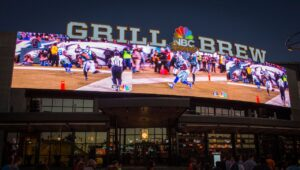 NBC Sports Grill & Brew beim Universal CityWalk in Orlando (Florida)