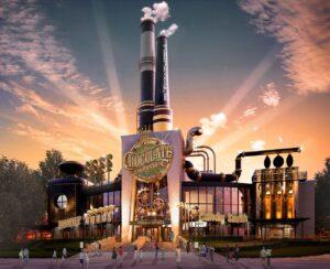 Toothsome Chocolate Emporium Savory Feast Kitchen beim Universal CityWalk in Orlando (Florida)