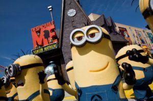 Despicable Me Minion Mayhem in den Universal Studios Orlando (Florida)