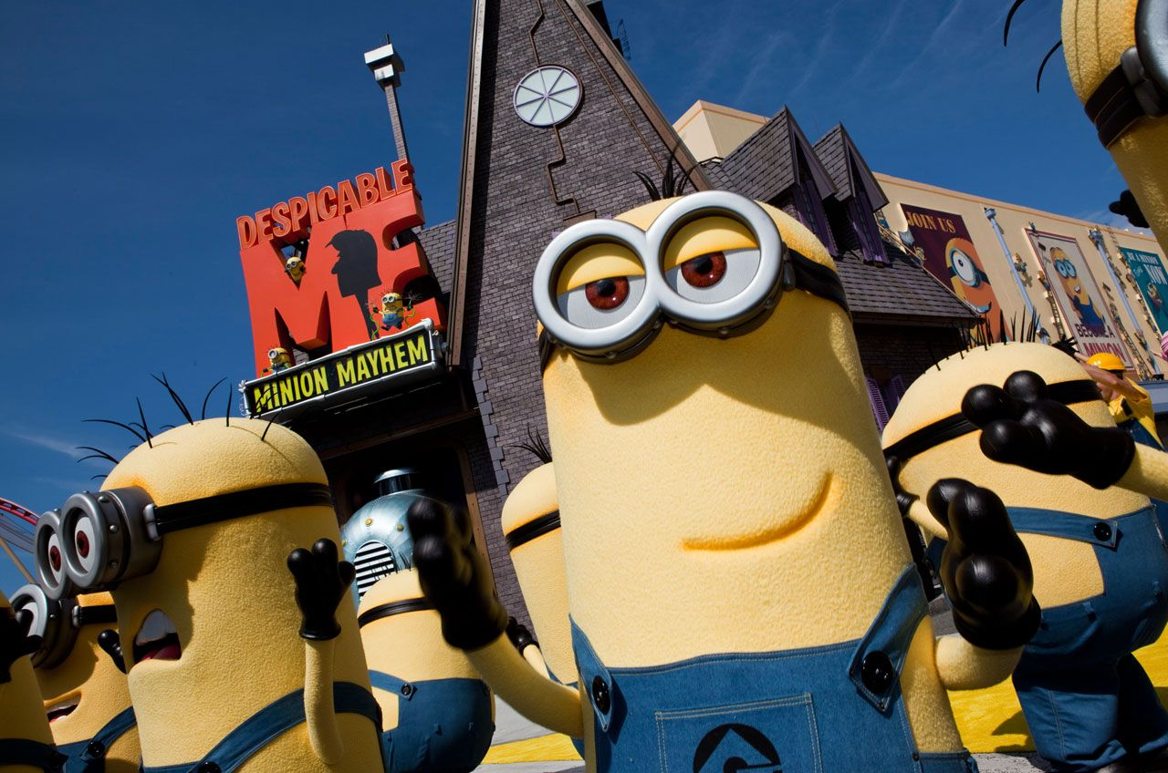Despicable Me Minion Mayhem in den Universal Studios Orlando (Florida)