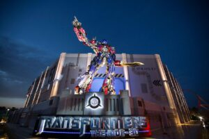 TRANSFORMERS: The Ride:3D in den Universal Studios Orlando (Florida)