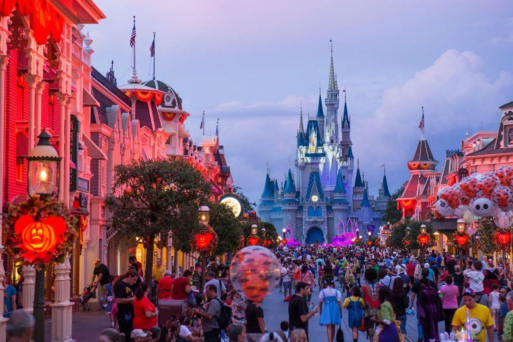 Mickey's Not-So-Scary Halloween Party in Walt Disney World in Orlando (Florida)
