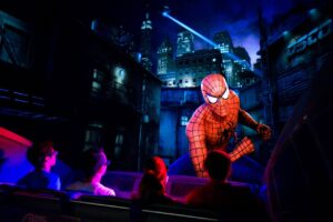 The Amazing Adventures of Spider-Man in Universal's Islands of Adventure in Orlando (Florida)