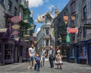 Harry Potter Diagon Alley im Universal Park in Orlando (Florida)