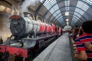Harry Potter Hogwarts Express im Universal Park in Orlando (Florida)