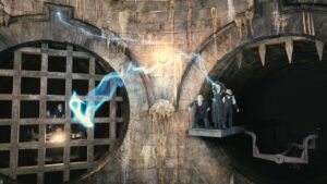 Harry Potter and the Escape from Gringotts im Universal Park in Orlando (Florida)