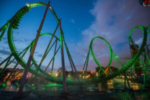 The Incredible Hulk in Universal's Islands of Adventure in Orlando (Florida)