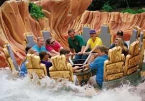 Popeye and Bluto's Bilge-Rat Barges in Universal's Islands of Adventure in Orlando (Florida)