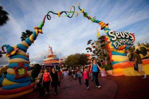 Seuss Landing in Universal's Islands of Adventure in Orlando (Florida)