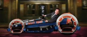 Race Through New York Starring Jimmy Fallon - Jimmys Fahrzeug in Orlando (Florida)