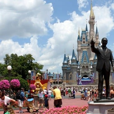 Disney's Magic Kingdom Panorama