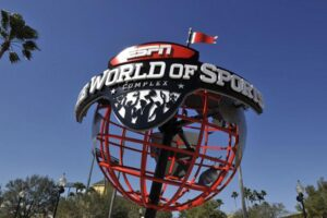 Das bekannte Logo des ESPN Wide World of Sports Complex