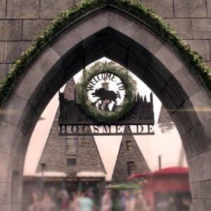 Weihnachten im Wizarding World of Harry Potter