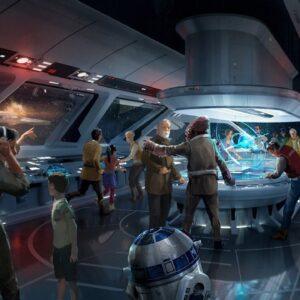 Disney Orlando Hotel Star Wars Resort Attraktion