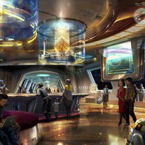 Disney Orlando Hotel Star Wars Resort Lobby