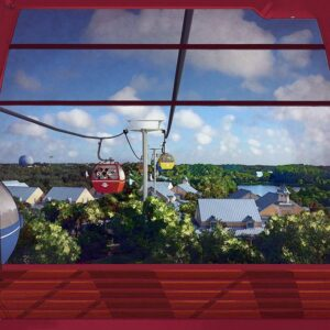 Walt Disney World Resort Skyliner Gondeln
