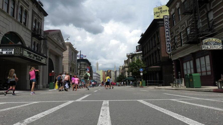 Disney Hollywood Studio Orlando Florida Streets Of America