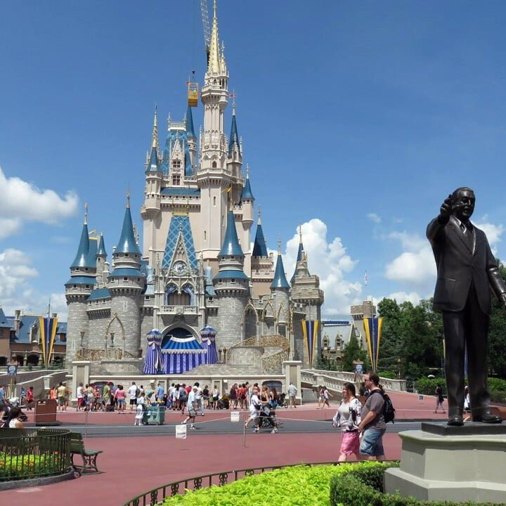 Magic Kingdom Schloss