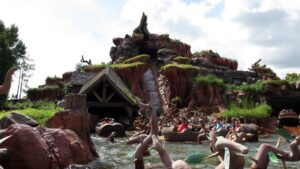 Magic Kingdom Orlando Florida Splash Mountain