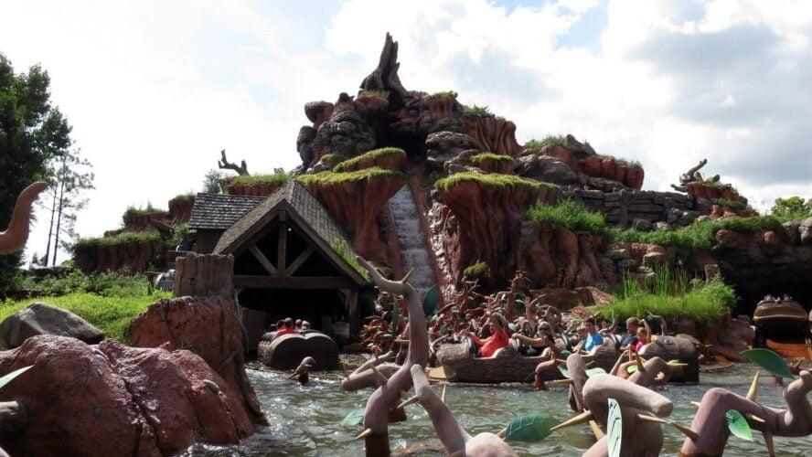 Magic Kingdom Orlando Florida Splash Mountain