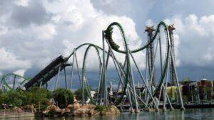 Regen, Gewitter und Hurrikans: Orlandos Freizeitpark bei schlechtem Wetter geniessen