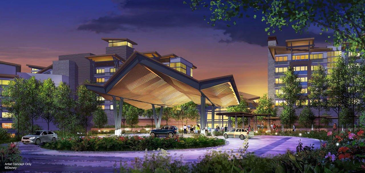 Neues Disney Hotel auf Insel beim Magic Kingdom