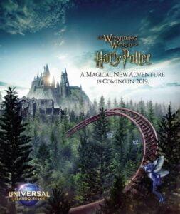 """Harry Potter""-Achterbahn - Offizielles Poster"
