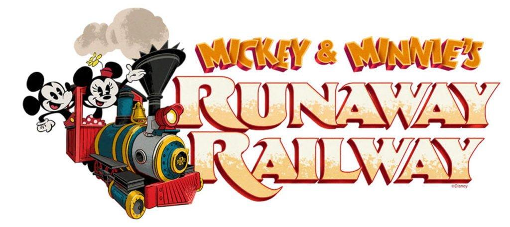 Mickey & Minnie's Runaway Railway Logo