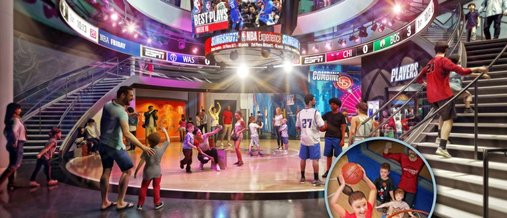NBA Experience in Disney Springs