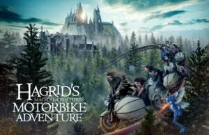 Hagrid-Achterbahn in Orlando
