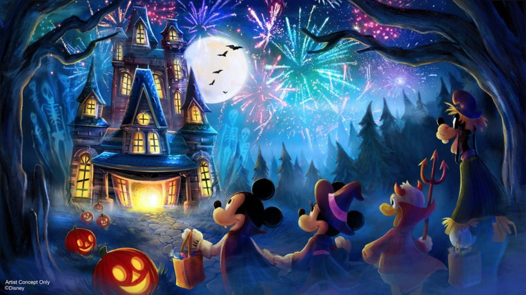 Halloween Fireworks Spectacular