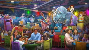 Toy Story Rodeo Restaurant