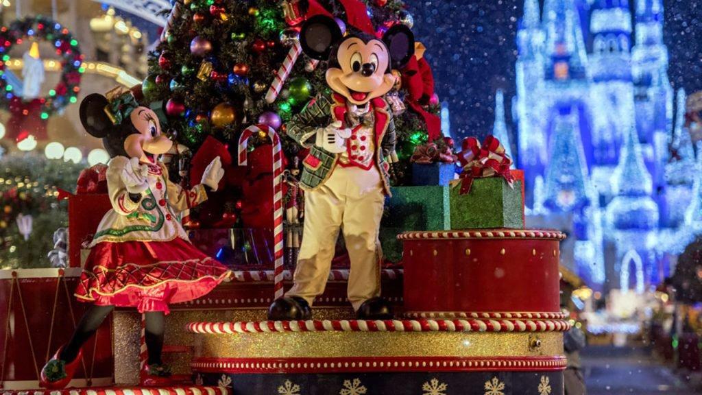 Weihnachten in Orlandos Freizeitparks (Disney World, Universal, SeaWorld)
