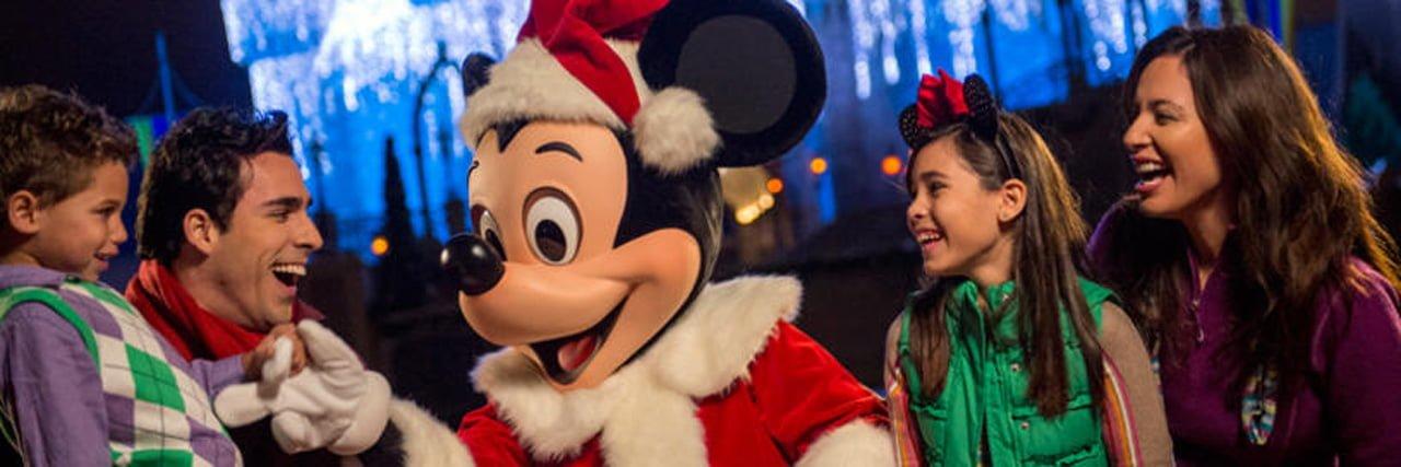 Walt Disney World Weihnachten