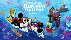 Underwater Mickey Minnie Runaway
