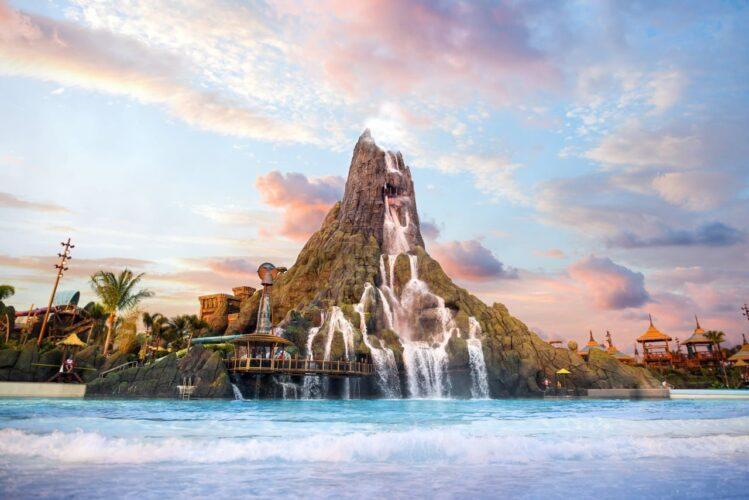 Wunderschön: Universal's Volcano Bay mitten in Orlando