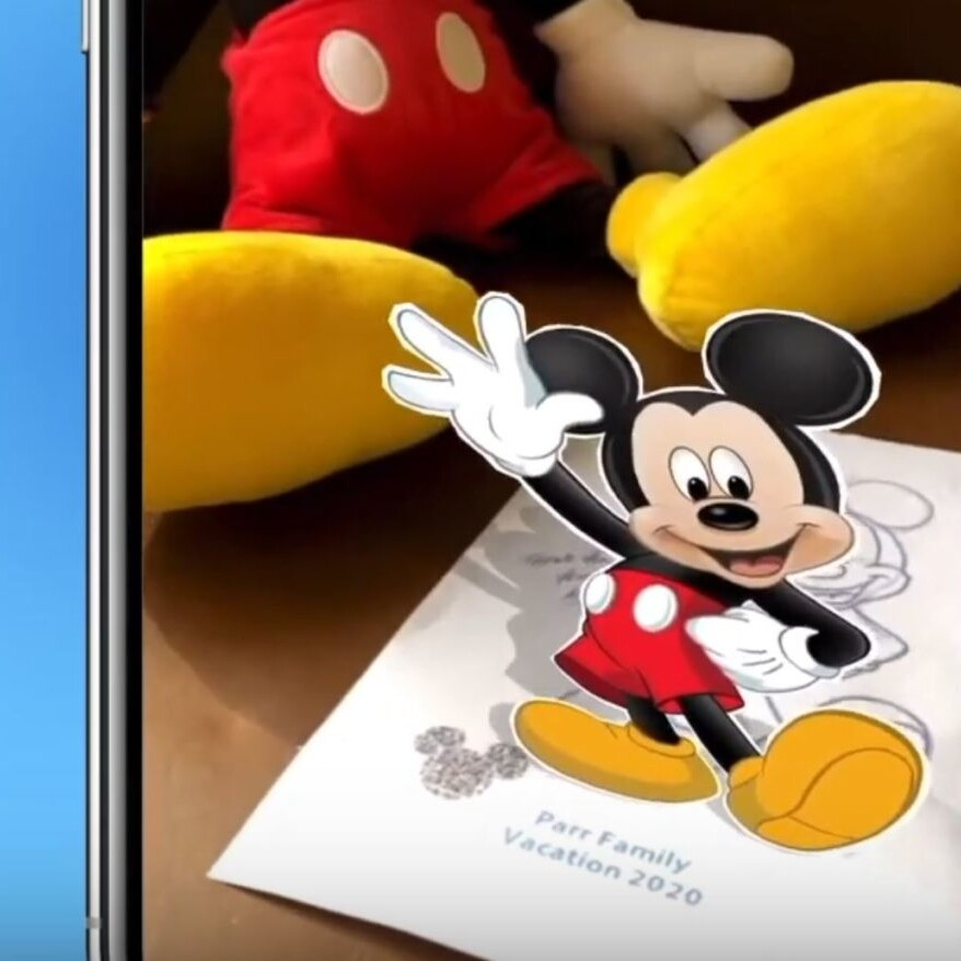 Discover A Magical Message From Mickey Mouse In The Play Disney Parks App