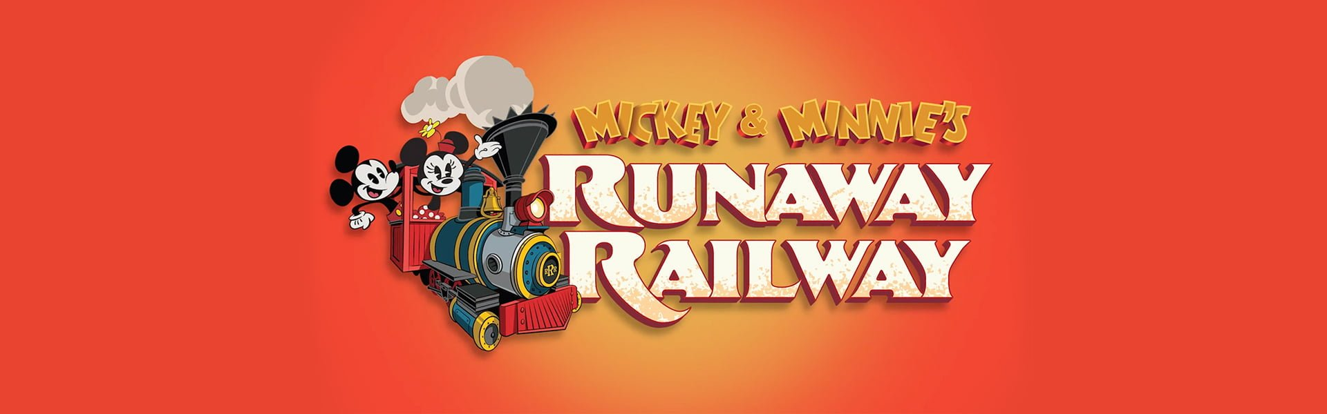 Mickey And Minnies Runaway Railway Cover