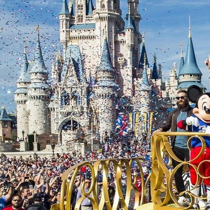 I'm Going To Disney World Super Bowl Cover