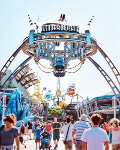 Magic Kingdom Tomorrowland Eingang