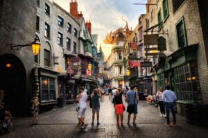 Diagon Alley von Harry Potter in Orlando (Florida)