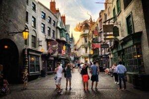 Diagon Alley von Harry Potter in Orlando (Florida)