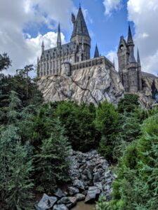 Hogwarts-Schloss in niversal Studios Florida